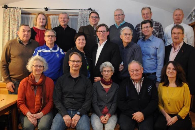 Gemeinderatskandidaten der Tachertinger SPD